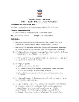 Octubre – 2015 - Colegio CEMEP