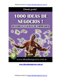 Ponencia Manuel Carneiro. 05-03-2014. Libro 1000 ideas de