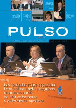 Pulso. Núm 58. Julio 2009 - Escuela de Ciencias de la Salud