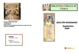 BIBLIOTECA PÚBLICA DE TUDELA