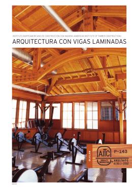 ARQUITECTURA CON VIGAS LAMINADAS