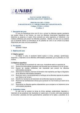 1 FACULTAD DE MEDICINA BACHILLERATO EN
