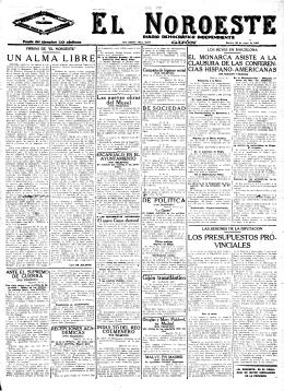 El Noroeste 19240520 - Historia del Ajedrez Asturiano