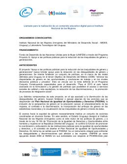 Bases del llamado - Laboratorio Tecnológico del Uruguay