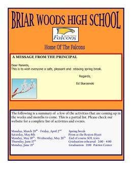 April 2010 - Loudoun County Public Schools