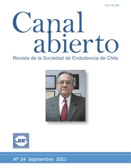 Revista de la Sociedad de Endodoncia de Chile Nº 24 Septiembre