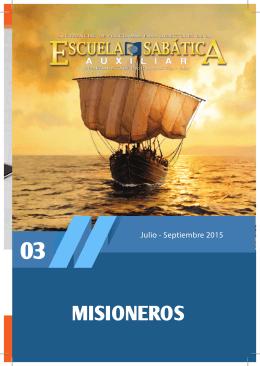MISIONEROS - Recursos Escuela Sabática