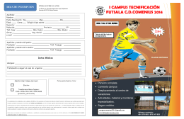 Descargar CAMPUS FUTBOL SALA COMENIUS
