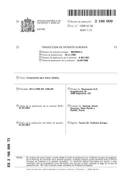 COMPOSICION PARA TINTAR CABELLOS.(ES2166009)