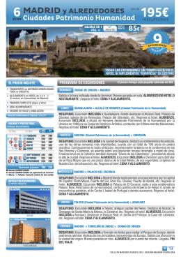 13. Madrid y Alrededores