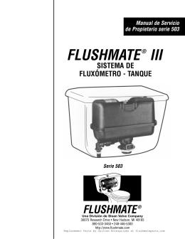 FLUSHMATE® III