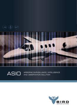 Folleto de ASIO - BIRD Aerosystems Ltd.