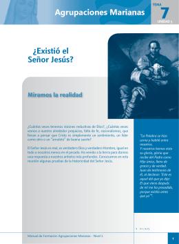 Agrupaciones Marianas ¿Existió el Señor Jesús?