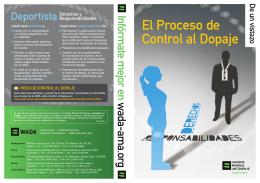 WADA-Proceso de Control del Dopaje