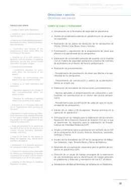 INFORMACIÓN GENERAL / aeropuertos GENERAL