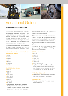 Vocational Guide - Continental Commercial Specialty Tires