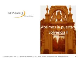 Descargar más Info - Gomarq Consulting