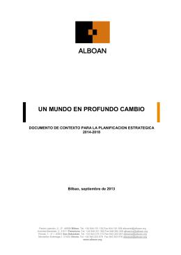 documento de contexto para la planificacion estrategica