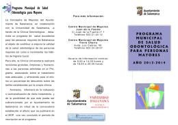 Folleto odontología convocatoria 2013-2014.pub