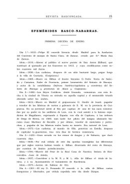 EFEMÉRIDES BASCO-NABARRAS.