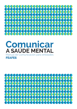 Por que é importante comunicar sobre a saúde mental?