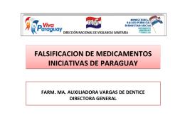 Dra. María Auxiliadora Vargas de Dentice