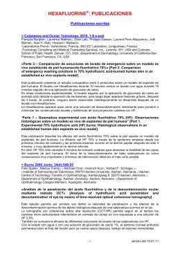 HEXAFLUORINE - Presentación Cicamed