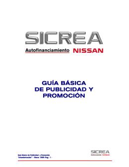 GUÍA BÁSICA DE PUBLICIDAD Y PROMOCIÓN