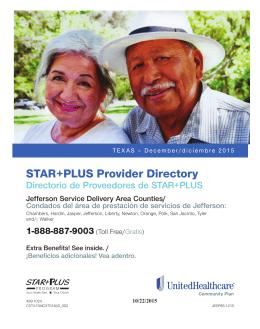 UnitedHealthcare Community Plan STAR+PLUS