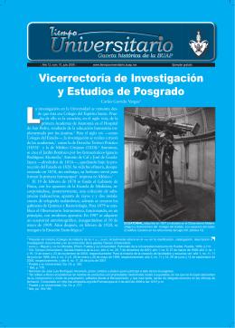 Gaceta Tiempo Universitario, número 10 - VIEP