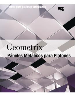 Páneles Metálicos para Plafones - Plafones e Interiores SA de CV
