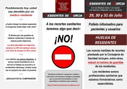 Descargar versión en PDF. - Residentes de Murcia