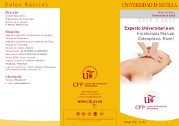 Experto - Fisioterapia Manual Osteopática Nivel I v2