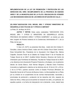 """(r)-15928-""""asociacion civil miguel bru y otrosc/ ministerio de"""
