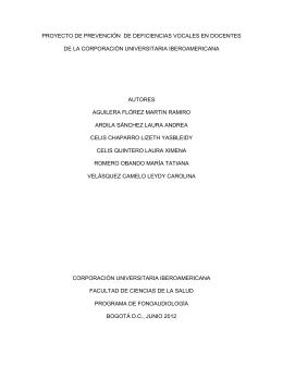 103 PROYECTO ENFASIS I - 2012