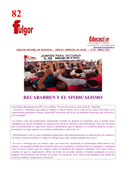 Fulgor 82 - Partido Comunista de Chile