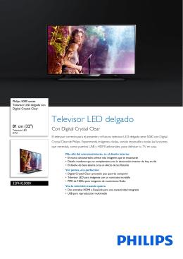 32PHG5000/77 Philips Televisor LED delgado con