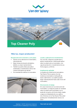 Top Cleaner Poly