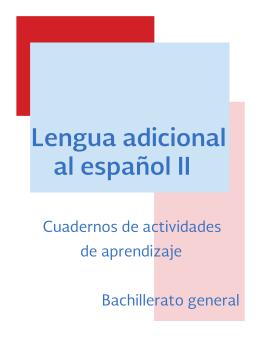 Lengua adicional al español II - DGB