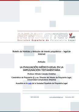 NewsletterSEPLnoviembre2014 UNA