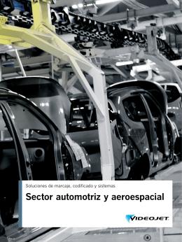 Sector automotriz y aeroespacial