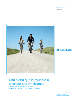 Oferta Barclays - UGT ILUNION Outsourcing