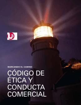 CÓDIGO DE ÉTICA Y CONDUCTA COMERCIAL
