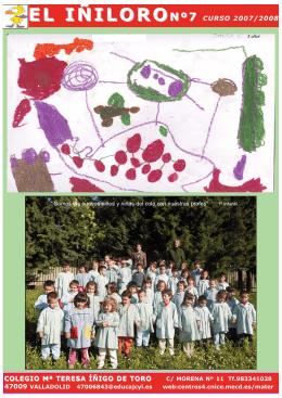 revista2008:Maquetación 1.qxd - CEIP Mª Teresa Íñigo de Toro