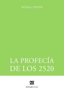 La profecía de los 2520
