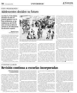 pagina 16. - La gaceta de la Universidad de Guadalajara