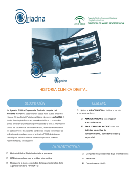 HISTORIA CLINICA DIGITAL