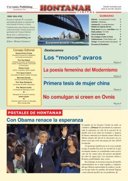 Noviembre - No. 164 Hontanar/2012
