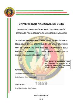ORDOÑEZ LUZ - CRUZ ZOILA - Repositorio Universidad