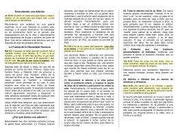 Cp33 Las Adicciones y los Cristianos
